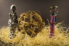 Bambole decorative e fatte a mano dal Brasile Fotografia Stock