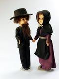 Bambole dei Amish Fotografie Stock Libere da Diritti