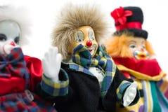 Bambole del pagliaccio Fotografia Stock Libera da Diritti