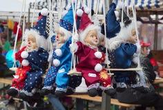 Bambole del pagliaccio Fotografia Stock