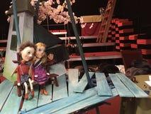 Bambole del teatro della cultura fotografia stock libera da diritti