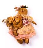 Bambole del tessuto fotografia stock