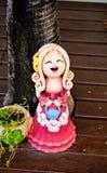 Bambole dell'argilla. Fotografia Stock