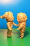 Bambole della mummia Fotografia Stock Libera da Diritti