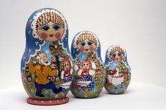 Bambole di Babushka Immagine Stock