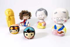 Bambole di ceramica Fotografie Stock