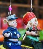 Bambole di ceramica Immagine Stock
