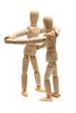 Bambole di legno ballanti fotografie stock