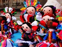 Bambole di pezza Fotografie Stock
