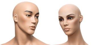 Bambole di plastica Fotografia Stock