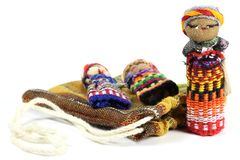 Bambole di preoccupazione Fotografia Stock Libera da Diritti