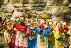 Bambole di scena Fotografia Stock