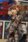 Bambole di stile del batik Fotografie Stock Libere da Diritti