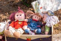 Bambole di straccio Fotografia Stock Libera da Diritti