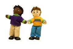 Bambole: due amici della bambola Fotografia Stock