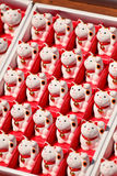 Bambole fortunate dei gatti Fotografia Stock Libera da Diritti