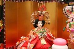 Bambole giapponesi Fotografia Stock