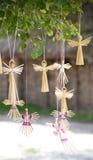 Bambole pieghe ucraine raccoglibili Immagine Stock