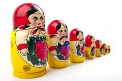 Bambole russe Fotografie Stock Libere da Diritti