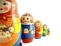 Bambole russe Fotografie Stock