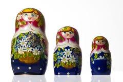 Bambole russe Immagine Stock