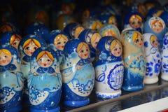 Bambole russe di matryoshka Fotografie Stock Libere da Diritti