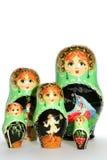 Bambole russe di matryoshka Immagini Stock Libere da Diritti