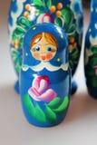 Bambole russe - matrioshka Immagini Stock Libere da Diritti