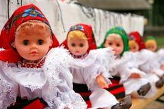 Bambole tradizionali Fotografia Stock