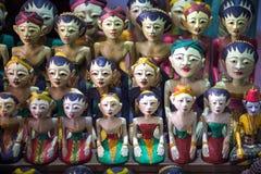 Bambole tradizionali da Java Indonesia fotografie stock libere da diritti
