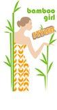 bamboo девушка Стоковая Фотография RF