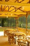 bamboo дом Стоковые Фото