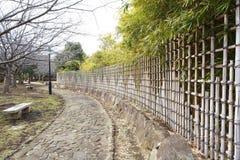 Bamboo загородки Стоковые Фотографии RF