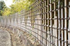 Bamboo загородки Стоковое Фото