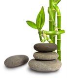 bamboo камни Стоковое Фото