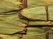 bamboo китайский высушенный оборачивать мяса листьев dumpli Стоковая Фотография RF