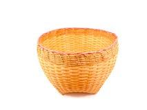 bamboo корзина тайская Стоковые Изображения RF