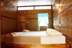 bamboo курорт Стоковая Фотография RF