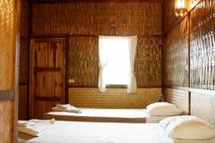 bamboo курорт Стоковое Фото