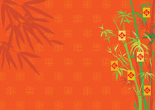 bamboo Новый Год дня Стоковые Изображения