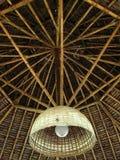 bamboo потолок стоковые фотографии rf