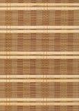 Bamboo предпосылка ткани таблицы Стоковая Фотография RF