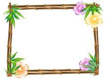 bamboo рамка Стоковые Изображения