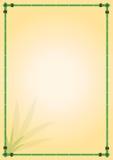 bamboo рамка Стоковое Изображение