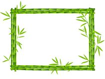 bamboo рамка Стоковое фото RF