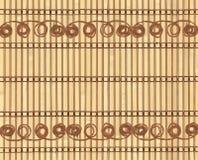 bamboo резьба картины Стоковое Фото