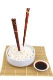 bamboo рис циновки фарфора традиционный Стоковые Фотографии RF
