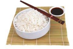 bamboo рис циновки фарфора традиционный Стоковое Изображение