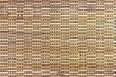 Bamboo рогожка тросточки стоковые изображения rf