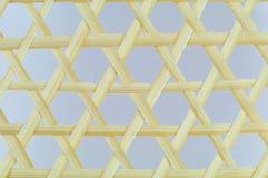 bamboo соткать текстуры Стоковая Фотография